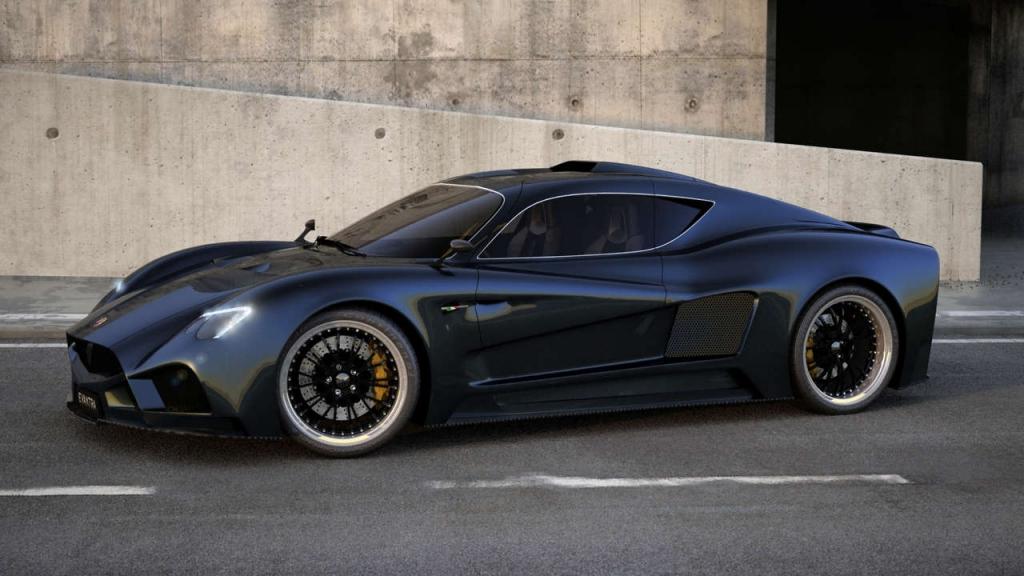 Der Evantra V8 des neuen italienischen Sportwagenherstellers - Bild: Mazzanti Automobili