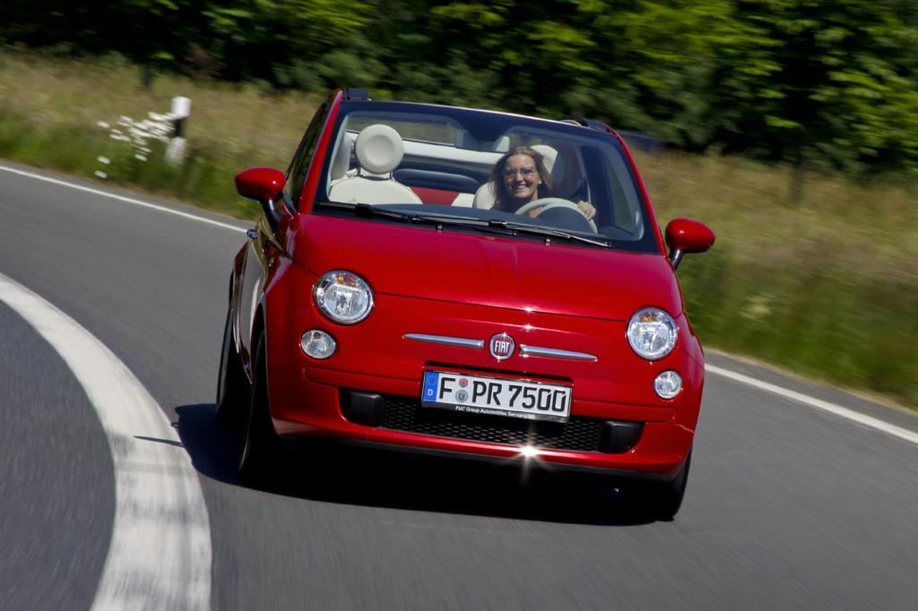 Der Fiat 500 C ist ein Charmeur