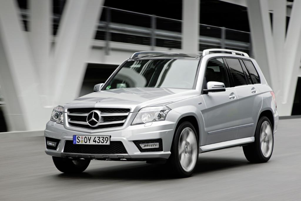Der GLK präsentiert sich als klassischen SUV mit allen Vor- und Nachteilen