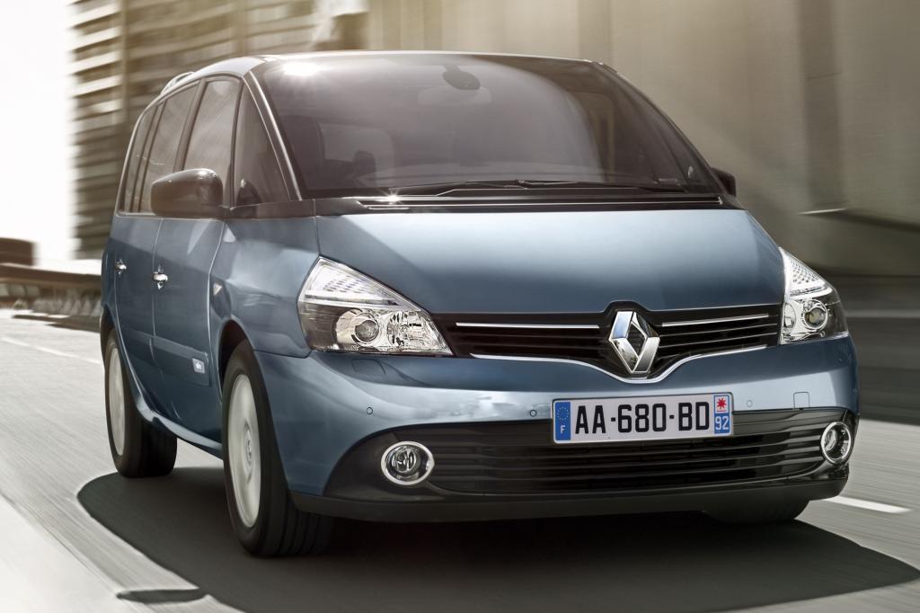 Der Renault Espace ist seit März 2003 auf dem Markt
