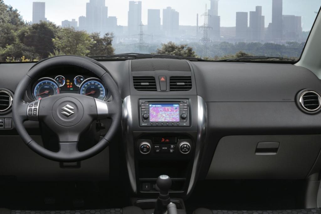 """Der SX4 mit Allrad ist in den Ausstattungsvarianten """"Club"""" und """"Comfort"""" erhältlich"""