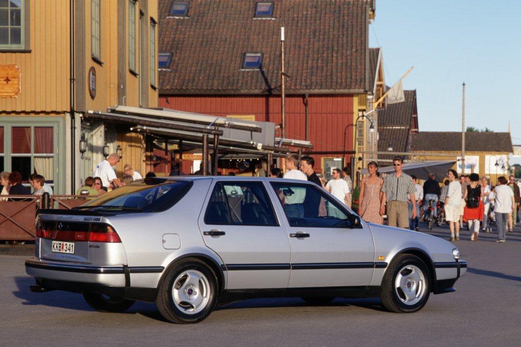 Der Saab 9000 CSE von 1998