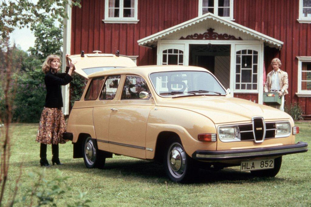 Der Saab 95 aus dem Jahr 1976
