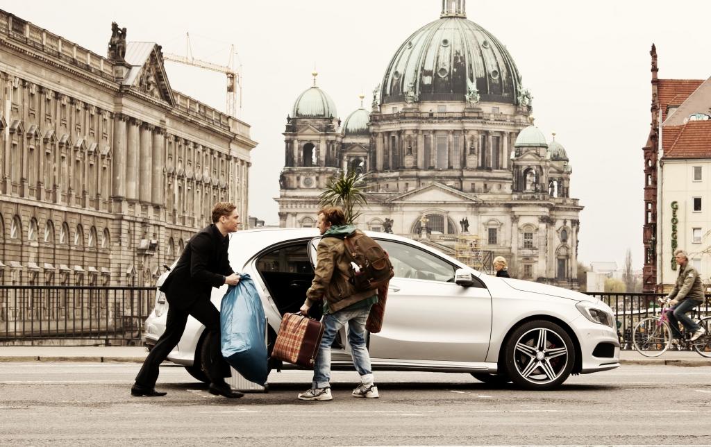 Der »Schlussmacher« fährt Mercedes
