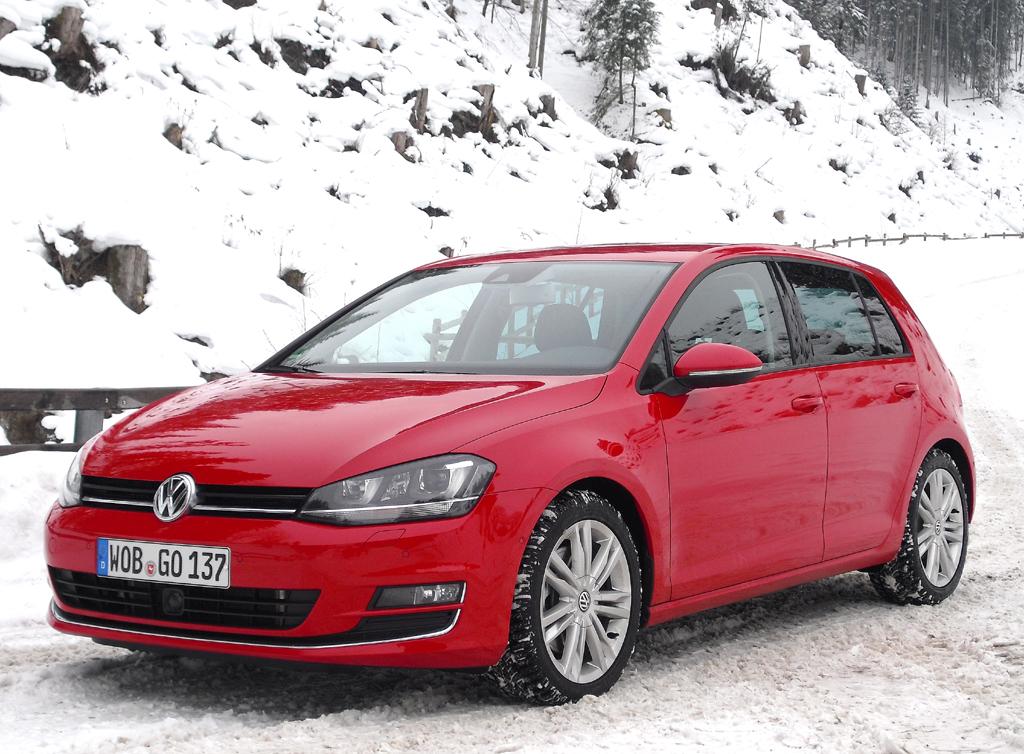 Der VW Golf 4Motion hat Permanentallrad an Bord.