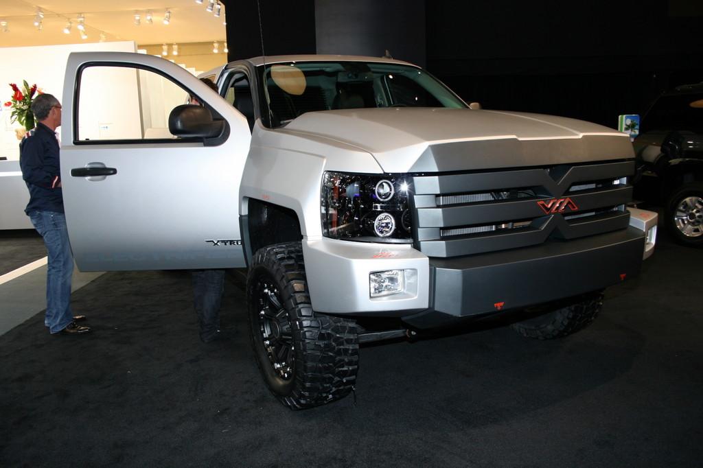 Detroit 2013: 800 Elektro-PS für einen Pick-up