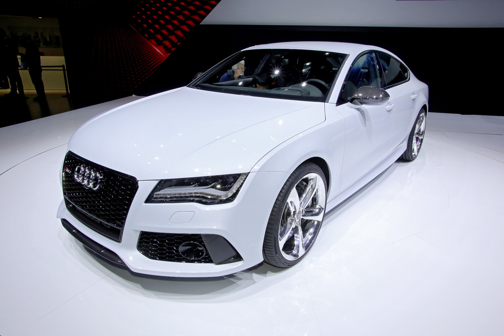 Detroit 2013: Audi zeigt RS7 mit 560 PS