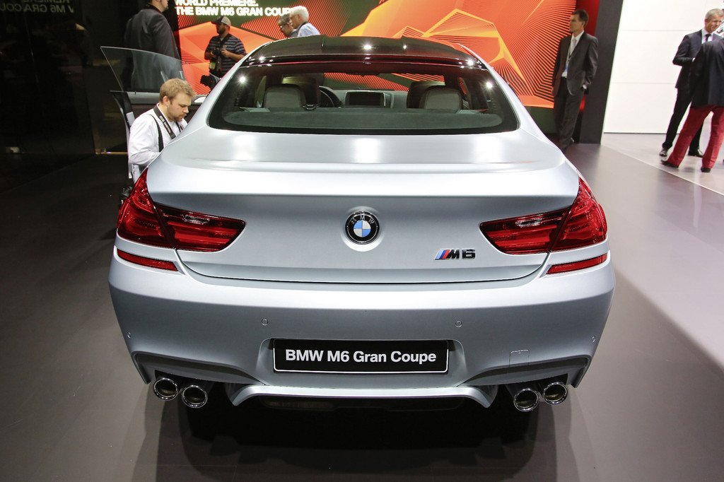 Detroit 2013: BMW M6 Gran Coupé leistet 560 PS