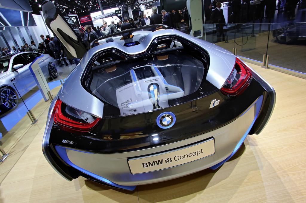 Detroit 2013: BMW i8 Concept Spyder vor dem Serienstart