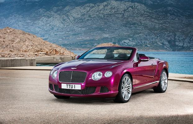 Detroit 2013: Bentley präsentiert schnellstes viersitzige Cabrio