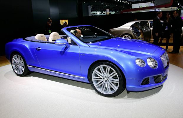 Detroit 2013: Bentley präsentiert schnellstes viersitziges Cabrio der Welt