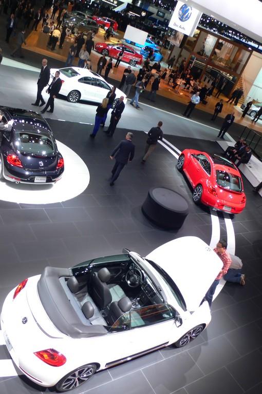 Detroit 2013: Die deutschen Hersteller dominieren das Bild