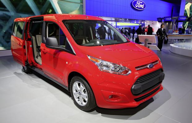 Detroit 2013: Ford Transit als runde Sache