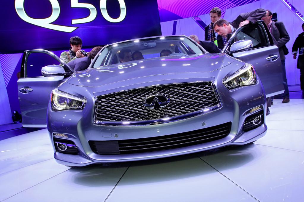 Detroit 2013: Infiniti Q50 kommt als Hybrid
