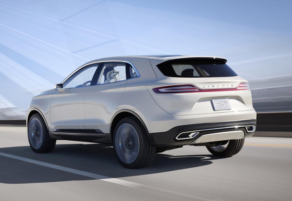 Detroit 2013: Lincoln zeigt SUV-Konzept MKC