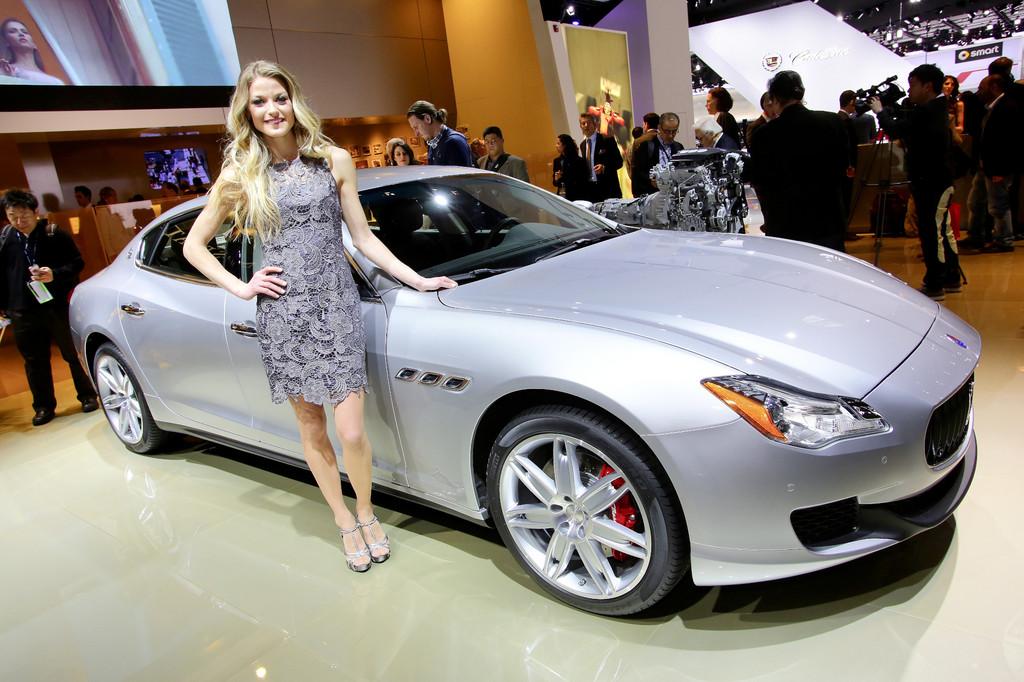 Detroit 2013: Maserati stellt seinen neuen Quattroporte vor