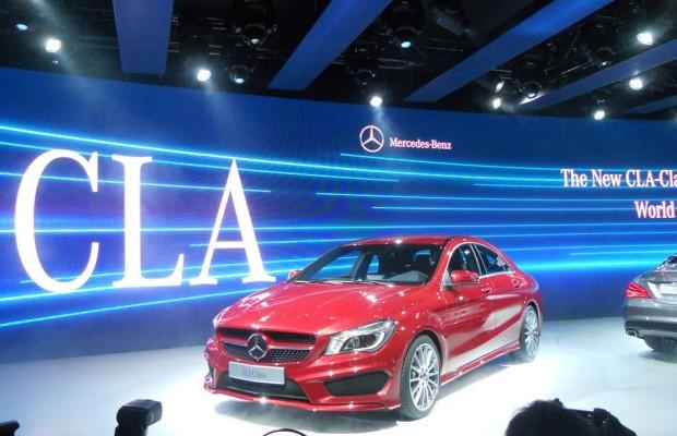 Detroit 2013: Mercedes-Benz CLA-Klasse begründet neues Segment