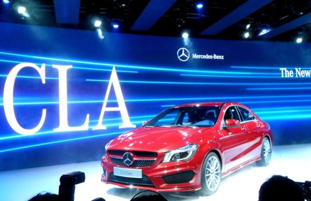 Detroit 2013: Mercedes-Benz CLA als Zaungast
