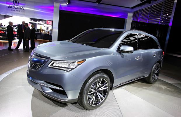 Detroit 2013: SUV-Prototyp Acura MDX enthüllt