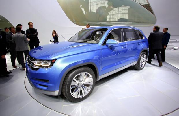 Detroit 2013: VW Cross Blue als SUV für Nordamerika?