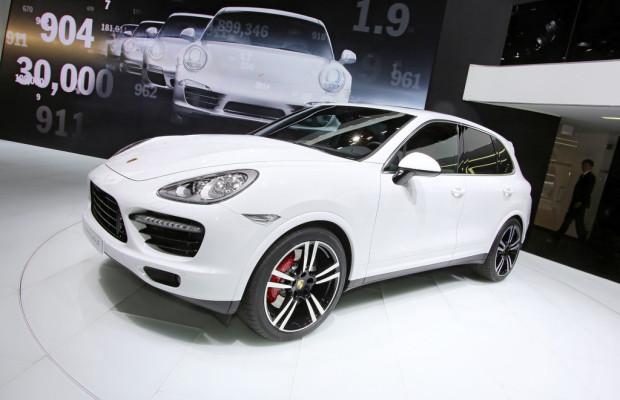 Detroit 2013: Weltpremiere des Cayenne Turbo S
