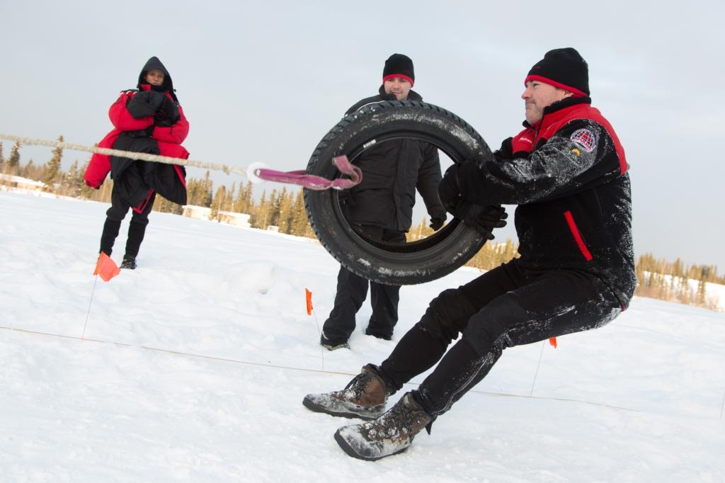 Die Außentemperatur im Klondike sinkt im Winter auf bis zu -40 Grad Celsius