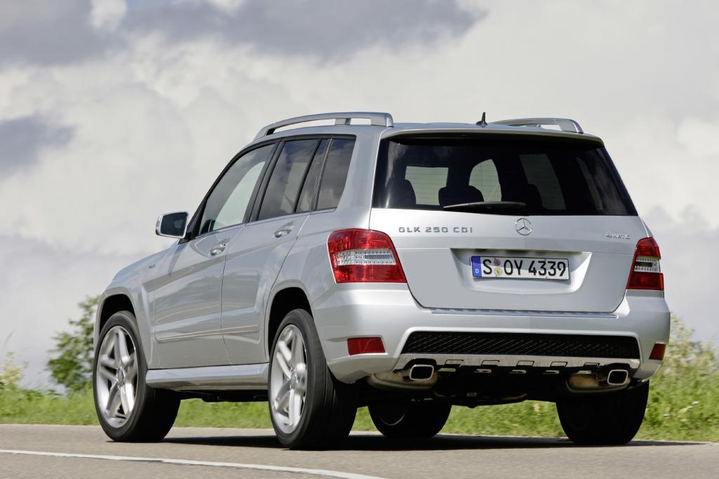 Die Auswahl an Motoren ist bei der Mercedes C-Klasse wie auch beim GLK groß