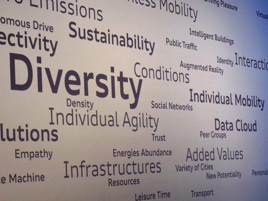 Diversität, also Vielfalt, ist das Stichwort mit Blick auf die Zukunftsmobilität, ...
