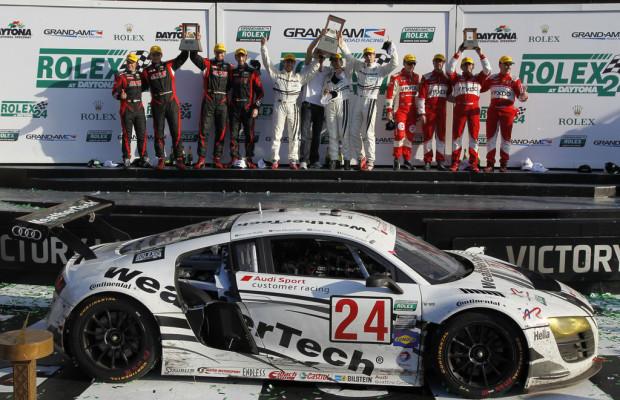 Doppelsieg für Audi-Kundenteams