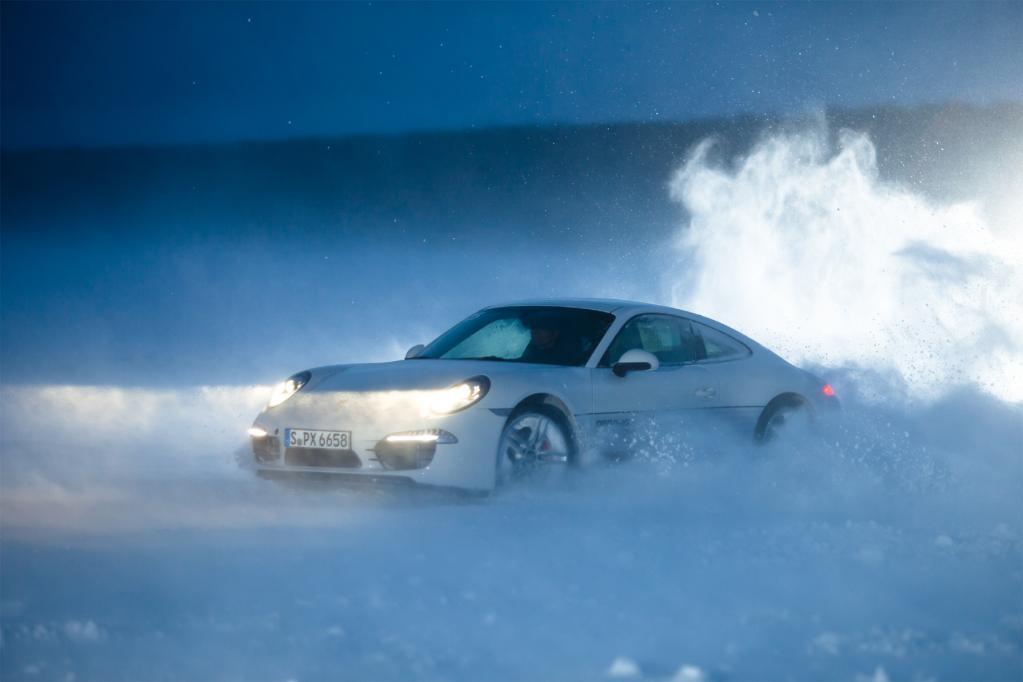 Driften hinter dem Polarkreis