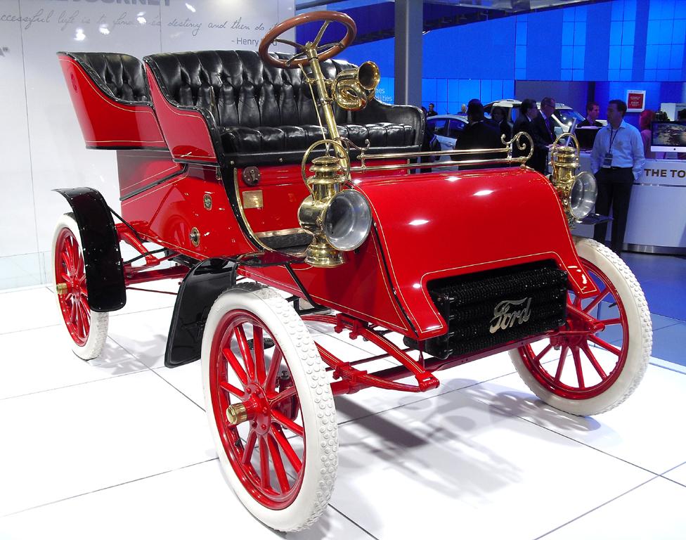 Drittes Auto aus der Produktion des ersten Tages: Model A, Baujahr 1903.