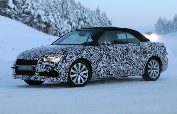 Erwischt: Erlkönig Audi A3 Cabrio – Oben Ohne im Schnee