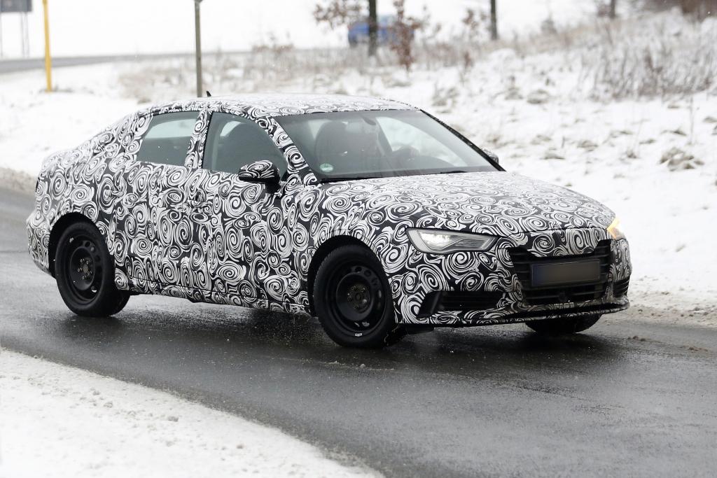 Erwischt: Erlkönig Audi A3 Limousine – Mehr Platz und viel mehr Leistung