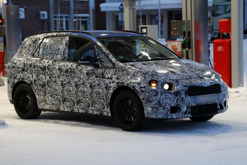 Erwischt: Erlkönig BMW 1er GT – Tabubruch in München
