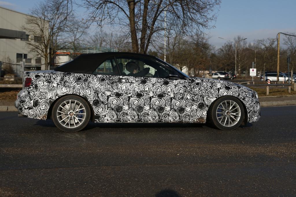 Erwischt: Erlkönig BMW 2er Cabrio – Flotter Zweier
