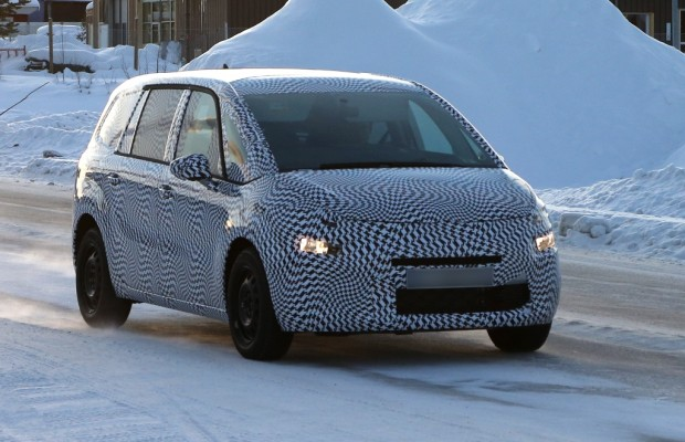 Erwischt: Erlkönig Citroën C4 Grand Picasso