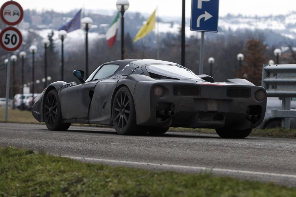 Erwischt: Erlkönig Ferrari Enzo Nachfolger F70