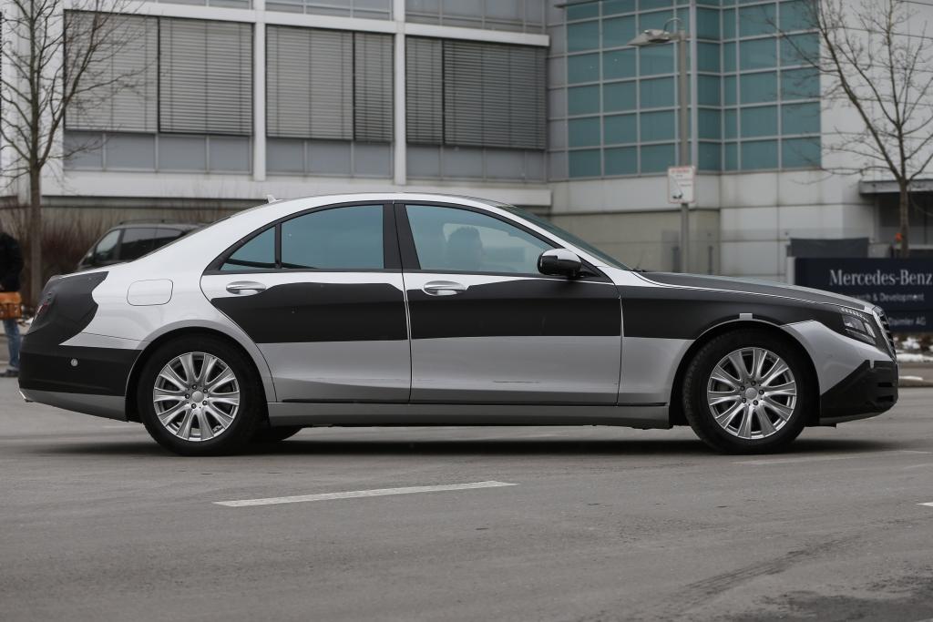 Erwischt: Erlkönig Mercedes S-Klasse – Wunderwerk der Technik