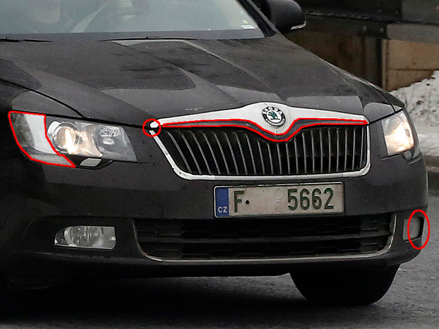 Erwischt: Erlkönig Skoda Superb Facelift