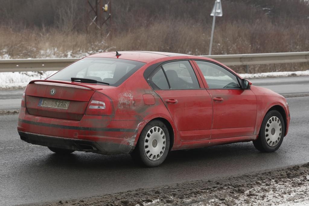 Erwischt: Erlkönig Škoda Octavia RS – GTI-Power für den Tschechen