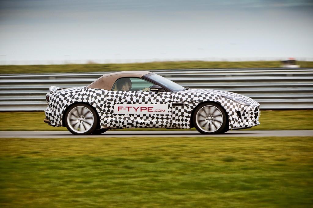 Ex-Rennfahrer sind vom Jaguar F-Type begeistert