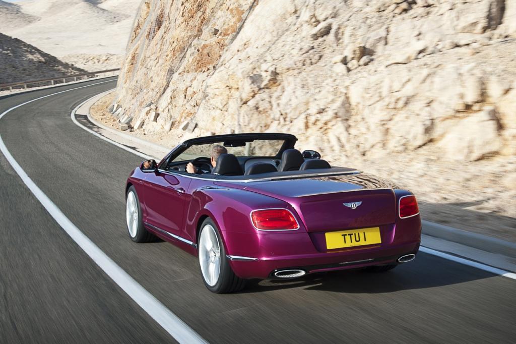 Für Markenkenner hat Bentley sein schnellstes Pferd im Stall ausstaffiert