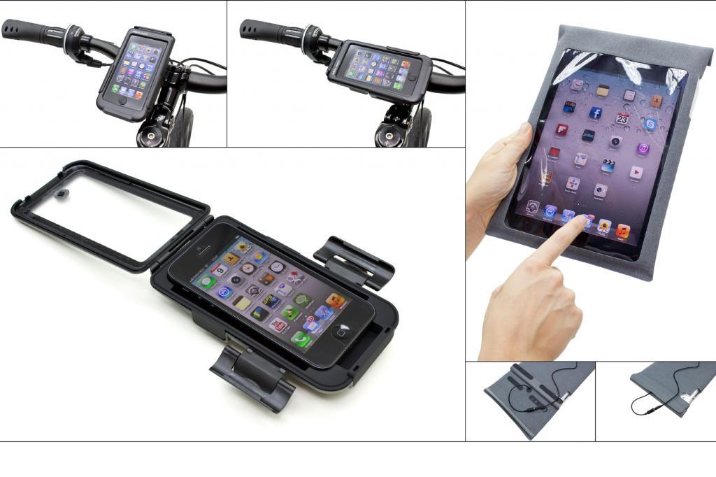 Fahrrad-Hüllen für iPhone und iPad - Apple fürs Bike