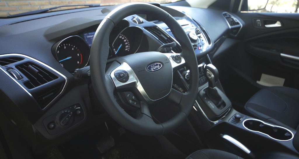 Ford Kuga: Blick ins Cockpit.