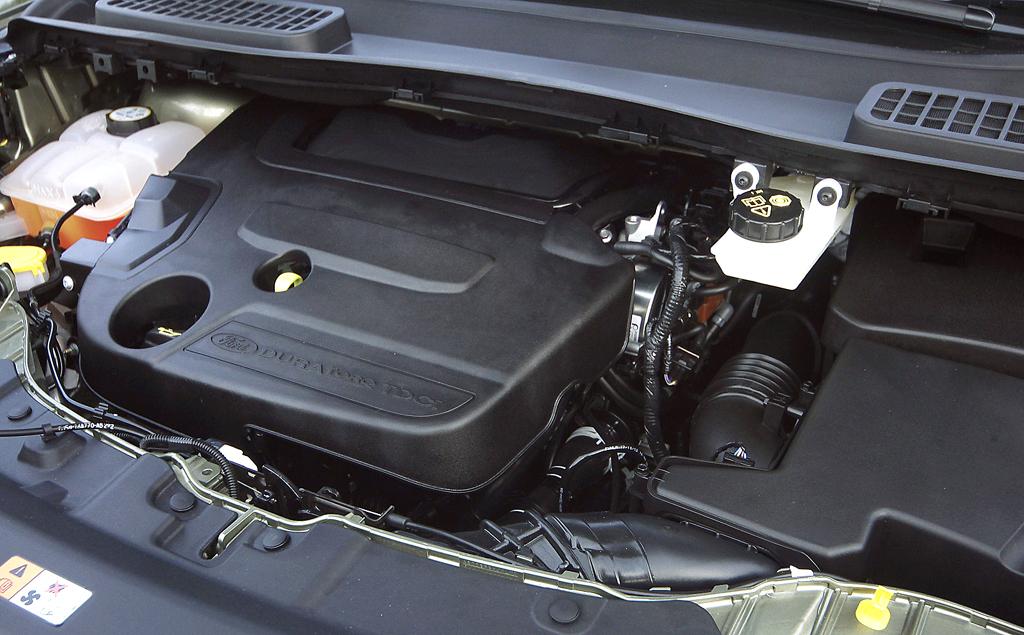 Ford Kuga: Blick unter die Haube. Zwei Benziner und zwei Diesel stehen zur Wahl.