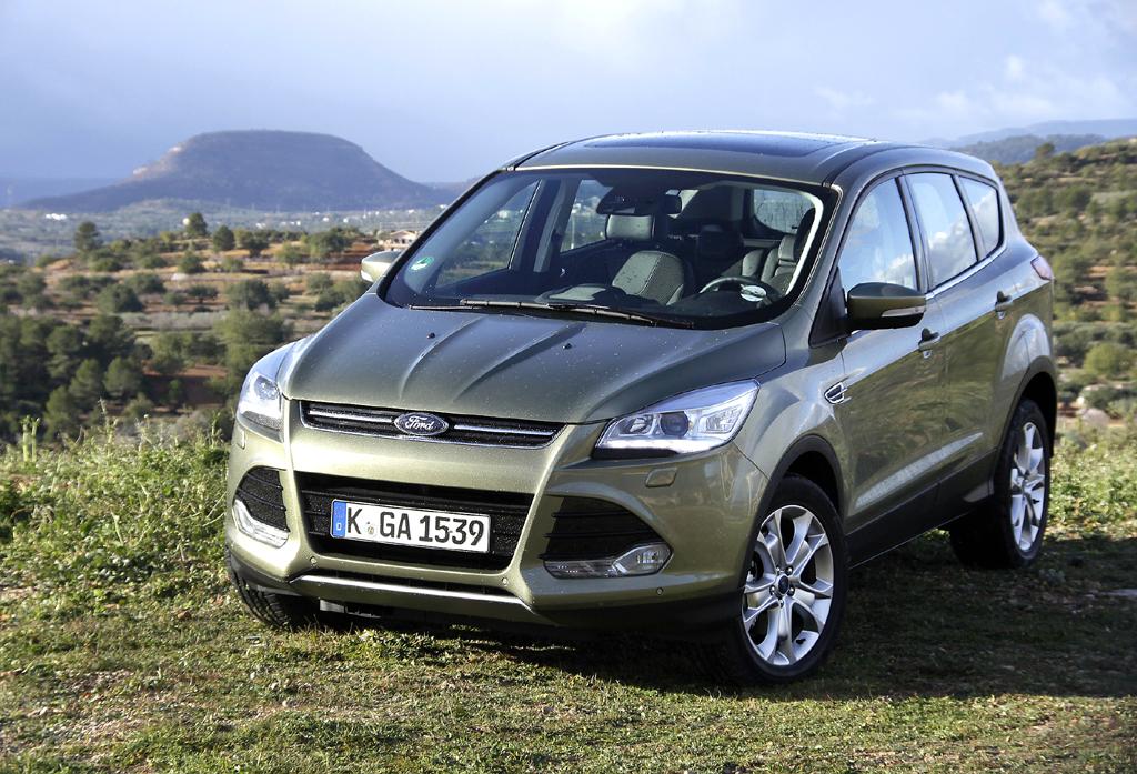 Fords neuer Kuga baut länger, ist flacher und schmaler.