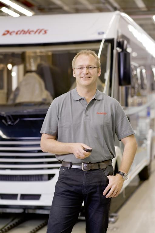 Günther Wank verstärkt Geschäftsführung der Dethleffs GmbH & Co. KG