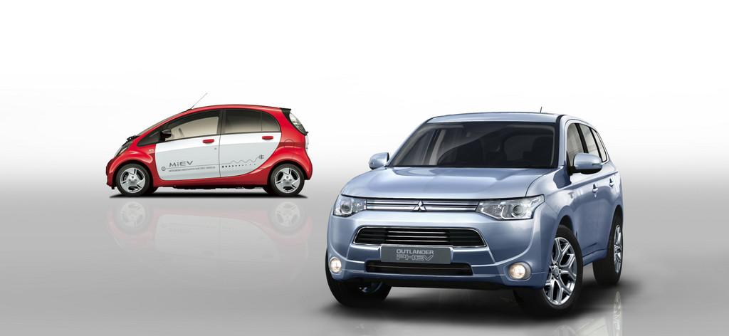 Genf 2013: Mitsubishi Outlander PHEV verbraucht 1,9 Liter