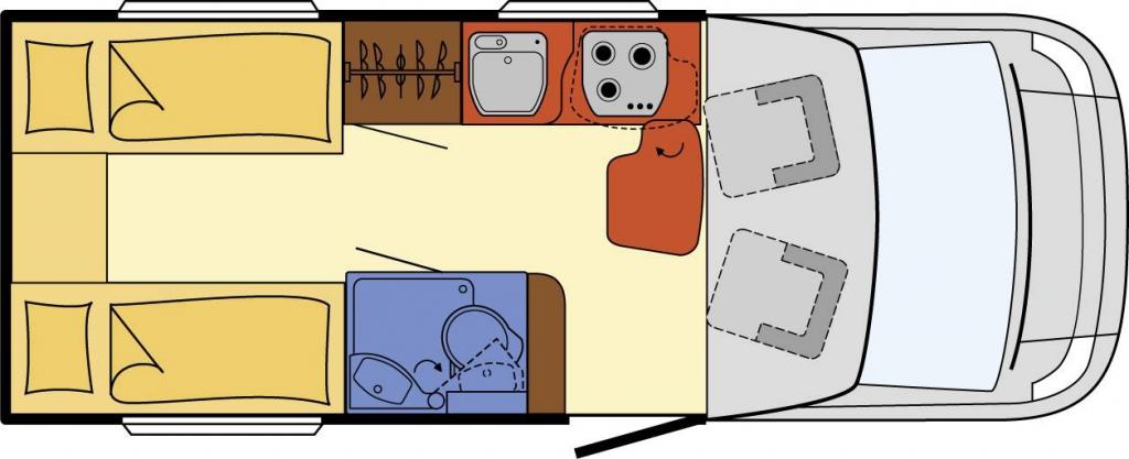 Globebus Plus 12 Einzelbetten