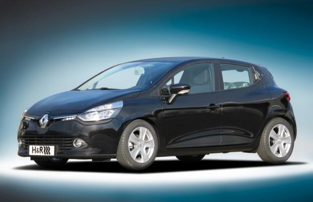 H&R liefert Fahrwerk für Renault Clio